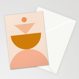 Abstraction_BALANCE_MODERN_Minimalism_Art_001 Stationery Cards