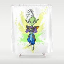 Zamasu (Splatter) Shower Curtain
