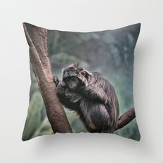 A Sense of Sadness Throw Pillow