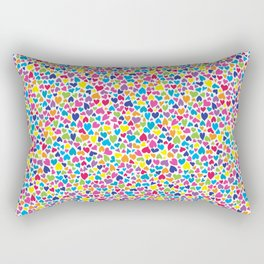 Little Hearts Rectangular Pillow