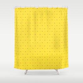 Chocobo Block Pattern Shower Curtain