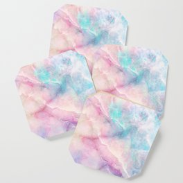 Iridescent marble Coaster