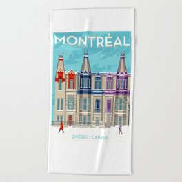 Montreal - Quebec - Canada Beach Towel