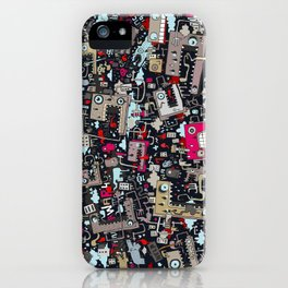 MIxed Draw iPhone Case