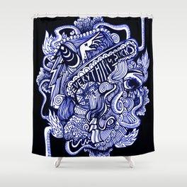 Artist's Lament Shower Curtain