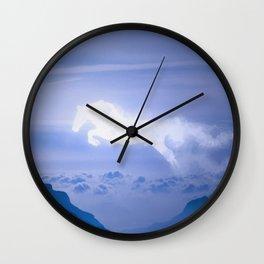 Horse Cloud Wall Clock