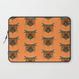 Tribal Cat Faces Laptop Sleeve