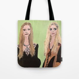 MaryKate and Ashley at Met Gala Tote Bag