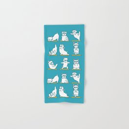 West Highland Terrier Yoga Hand & Bath Towel