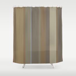 Untitled 2018, No. 12 (Earth Palette 1) Shower Curtain