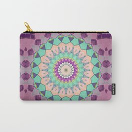 Colorful Symmetrical Abstract Carry-All Pouch