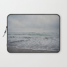 a stormy Pacific Ocean, Oceanside, California Laptop Sleeve