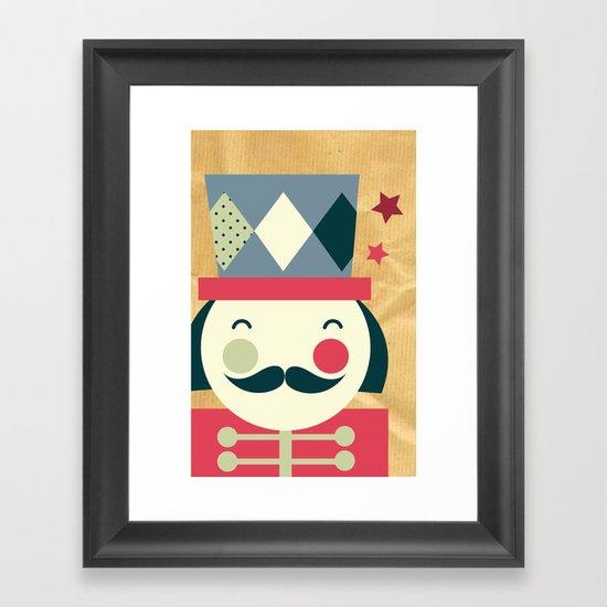 Toy Soldier Framed Art Print