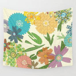 Flower Gardens Wall Tapestry
