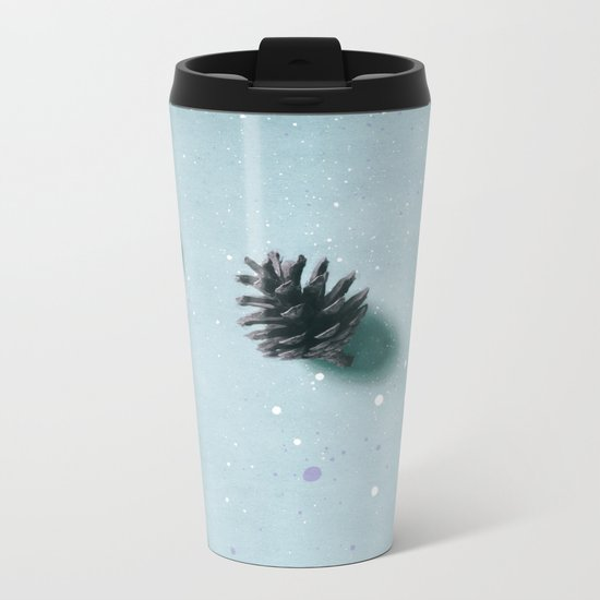 smell of pine forest Metal Travel Mug