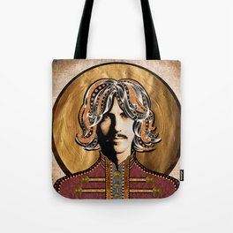 Boho Beatle (George) Tote Bag