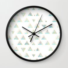 pattern no. 3 / missing summer Wall Clock
