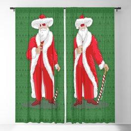 Big Pimpin' Santa Blackout Curtain