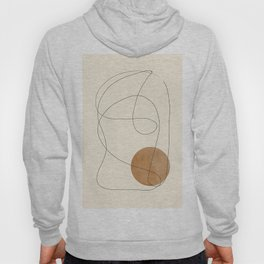 Minimalist Abstract 39 Hoody