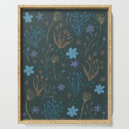dried flower Serving Tray