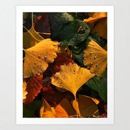 Sounds of Autumn Art Print