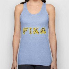 Fika- Folk style Unisex Tank Top