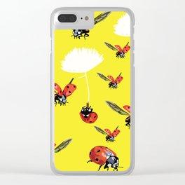 Ladybirds Clear iPhone Case