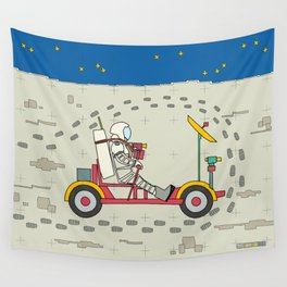 Moon Rover 1971 Wall Tapestry