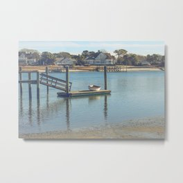 Bass River, Yarmouth Massachusetts on Cape Cod Metal Print