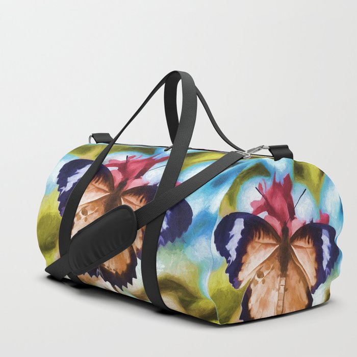 Beautiful Monarch Butterfly Duffle Bag