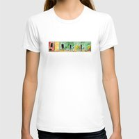 tv T-shirts featuring TV by Bakal Evgeny