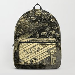 Mr. Normans Show-House for Orchids 1877 Backpack