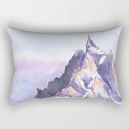 Aiguille Du Midi Rectangular Pillow