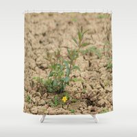 flower of life Shower Curtains featuring LIFE  by Four Hands Art