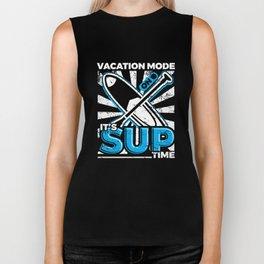 SUP Stand Up Paddleboarding Vacation Biker Tank