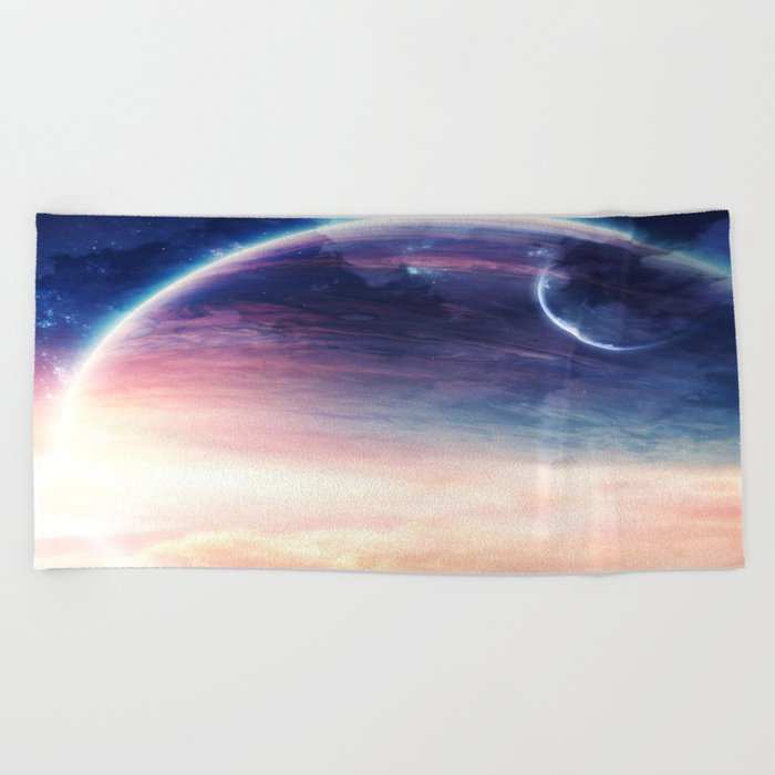 Jupiter rising Beach Towel