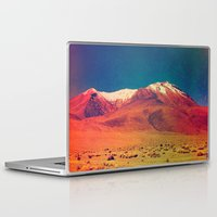 saturn Laptop & iPad Skins featuring Saturn. by Daniel Montero