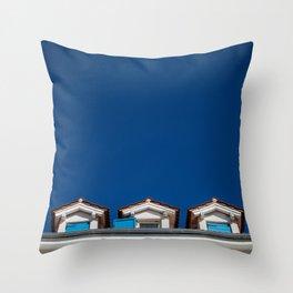 windows II. Throw Pillow