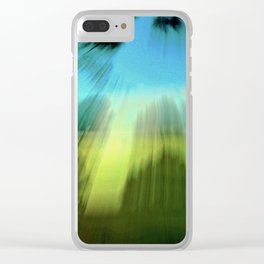 Abstract Victoria Park Costa Mesa CA Clear iPhone Case