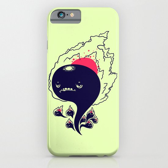 Flaming Squiggles iPhone & iPod Case