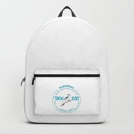 National Dog Day Backpack