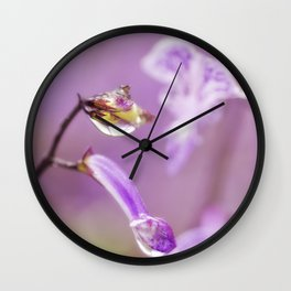Encased in Beauty Wall Clock