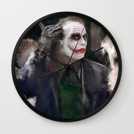 The Party Crasher (the joker) Wall Clock