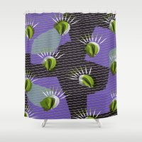 shell Shower Curtains featuring Shell by [Oxz]