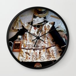 My Life Is Like A Collage Wall Clock