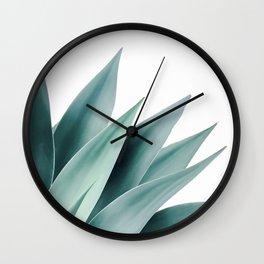 Agave flare II Wall Clock