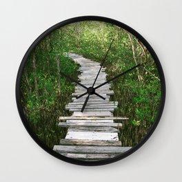 SAN PEDRO MANGROVES Wall Clock