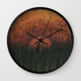 To Plumb the Depths Wall Clock