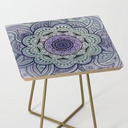 Mandala Violet Side Table
