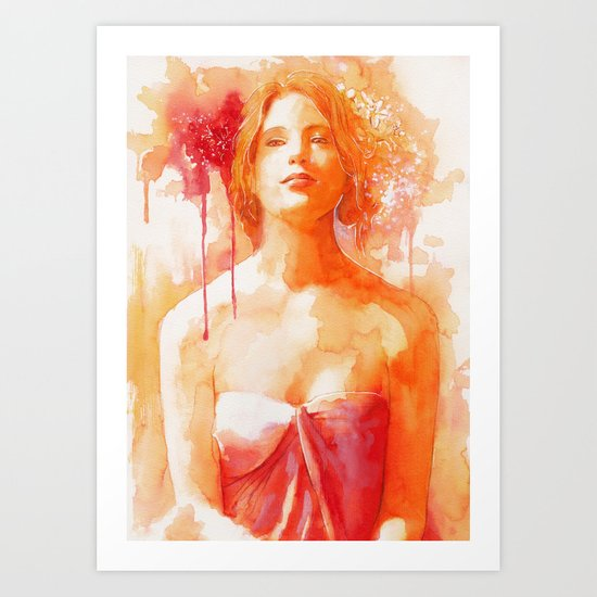 Make me feel Art Print